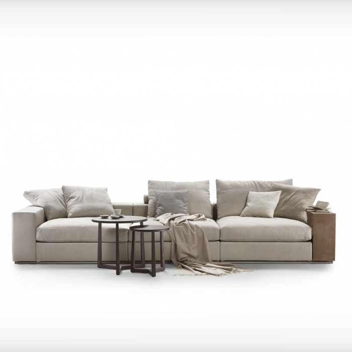 Groundpiece sofa by Flexform, available in Boston at Showroom