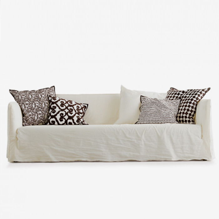 Ghost - Upholstered sofa by Paola Navone for Gervasoni, available in Boston at Showroom