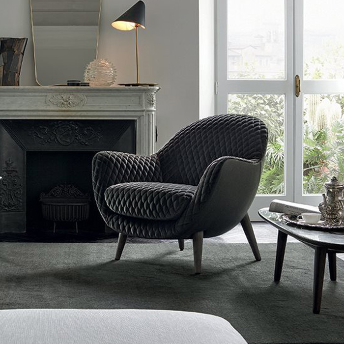 Mad Queen chair by Poliform, available in Boston at Showroom