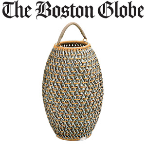 Showroom - Dedon Daia Lantern Featured in Boston Globe